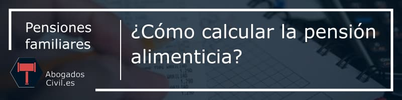 calculo pension alimenticia - portada